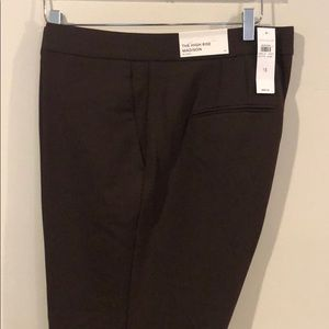 Ann Taylor High Rise Madison in Curvy Trousers